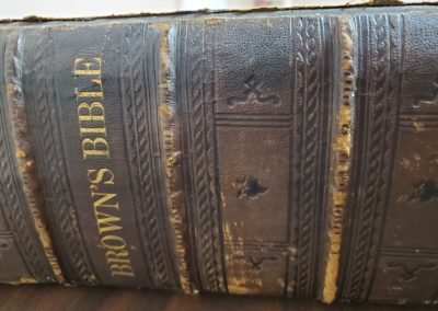 Brown's Bible Spine